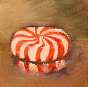 Detail Image for art Peppermint Candy- SOLD