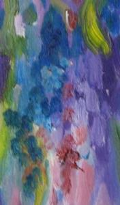 Detail Image for art Wisteria, SOLD