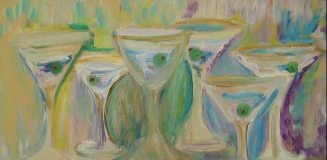Art: Martinin Glasses- Sold by Artist Delilah Smith