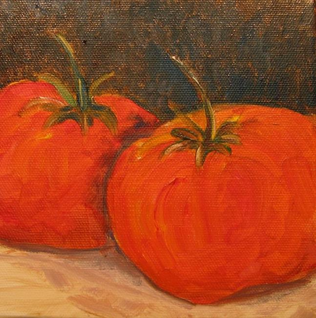 Art: Tomatoes-SOLD by Artist Delilah Smith