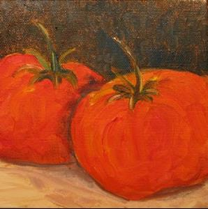 Detail Image for art Tomatoes-SOLD