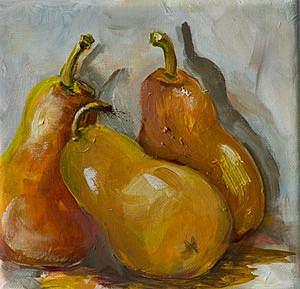 Detail Image for art Three Pears-sold