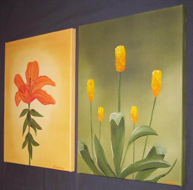 Art: SUMMER FLOWERS by Artist CJs Soul Studio