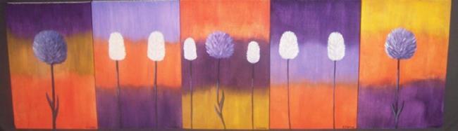 Art: REMINISCING - FLOWERS by Artist The Bridges Gallery