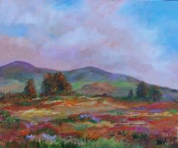 Art: California  Landscape by Artist Mary Jo Zorad