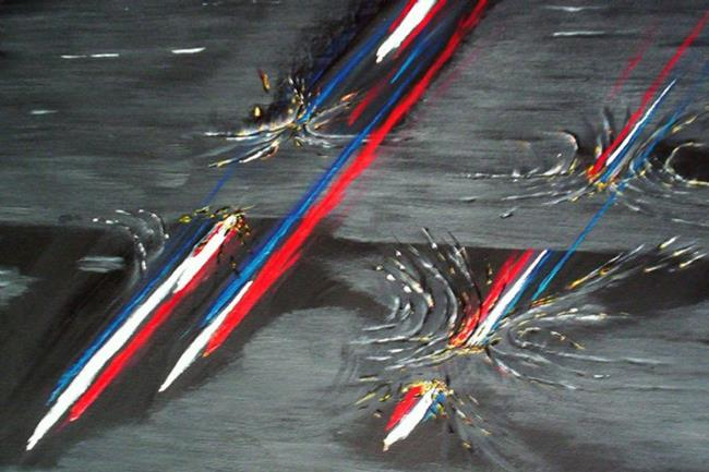 Art: COLORS OF FREEDOM by Artist The Bridges Gallery