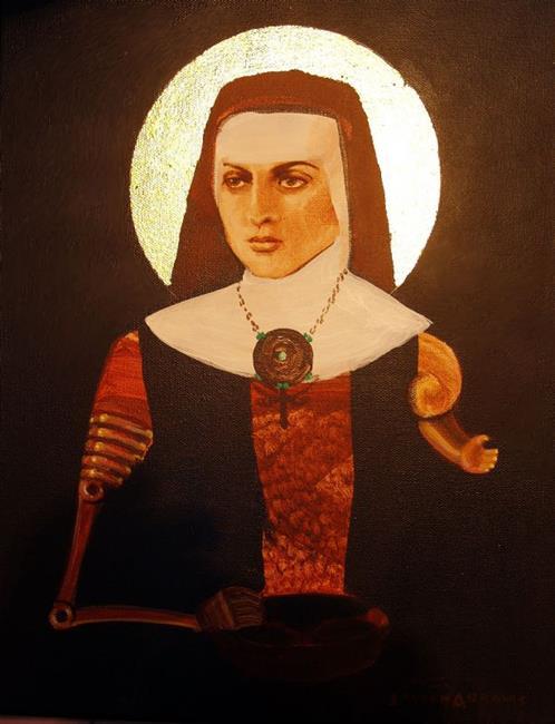 Art: The Martyr by Artist Lauren Cole Abrams