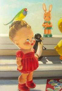 Detail Image for art TOYS AND BIRD