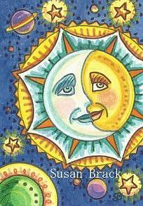 Art: STARRY DAYS AND SUNNY NIGHTS by Artist Susan Brack