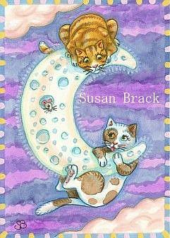 Art: MOON MISCHIEF by Artist Susan Brack