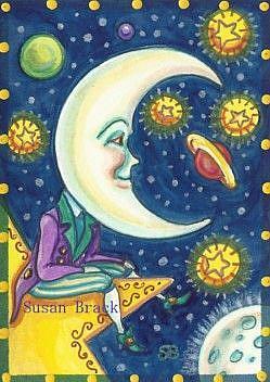 Art: WISH UPON A STAR by Artist Susan Brack