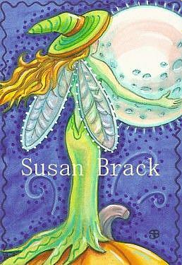 Art: BEWITCHING THE MOON by Artist Susan Brack