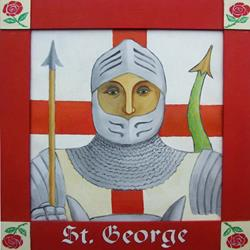 Art: Saint George by Artist Paul Helm