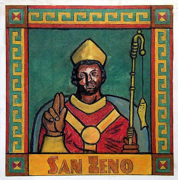 Art: San Zeno by Artist Paul Helm