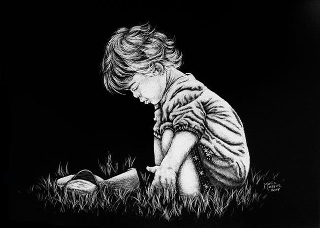 Art: Life of a Child by Artist Monique Morin Matson