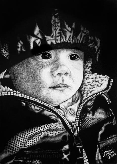 Art: Michele's Luca (Commission) by Artist Monique Morin Matson