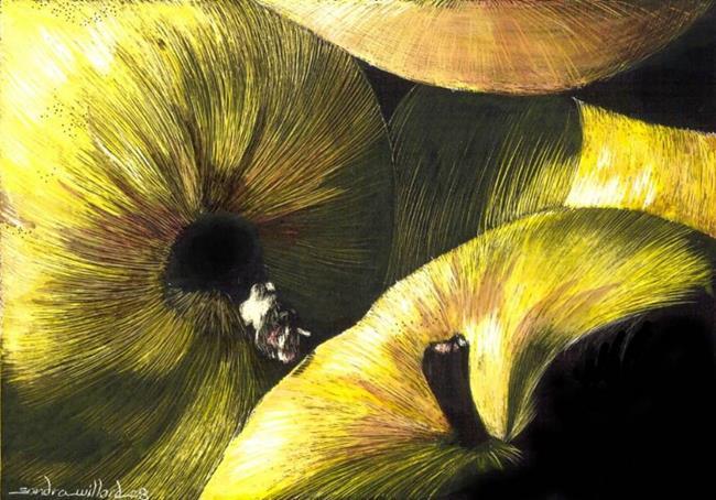 Art: Apples by Artist Sandra Willard