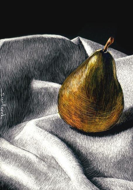 Art: Not a Pair by Artist Sandra Willard