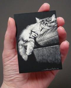 Detail Image for art Cat Nap
