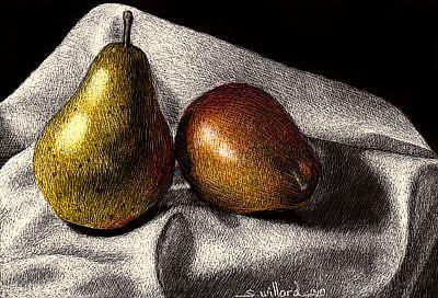 Art: Petit Pears by Artist Sandra Willard