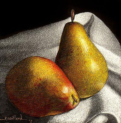 Art: Pears - Thumbnail by Artist Sandra Willard