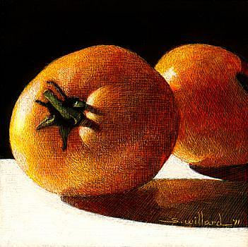 Art: Tomato Tomato by Artist Sandra Willard