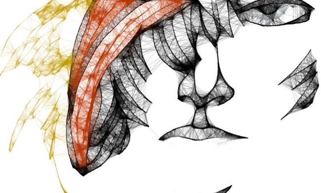 Art: Tamara in a Hat by Artist Alma Lee