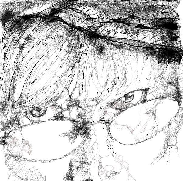 Art: Another Scribbled Life by Artist Alma Lee