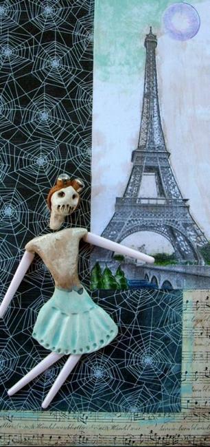 Art: La Danse Macabre by Artist Sherry Key