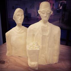 Art: American Gothic Popcorn Twist by Artist Aylan N. Couchie