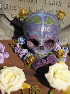 Detail Image for art In Memoriam: Sugar Skull Shrine