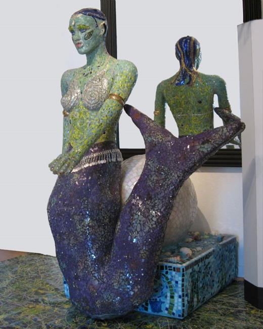Art: Neptune's Daughter by Artist Dorothy Edwards
