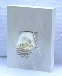 Art: Nest in Hand by Artist Aylan N. Couchie