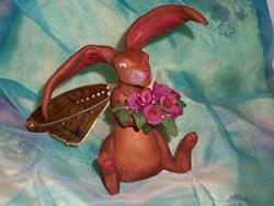 Art: Fairy Bunny by Artist Emily J White