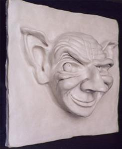 Detail Image for art Gargoyle Tile