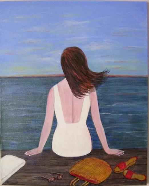 Art: Dawn Watch (Sold) by Artist Fran Caldwell