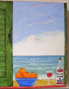 Detail Image for art Shabby Shutters III (Sold)