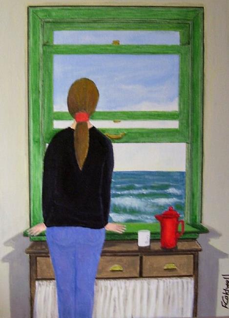 Art: Simple Life (Sold) by Artist Fran Caldwell