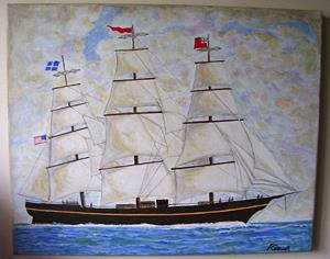 Detail Image for art The Clipper