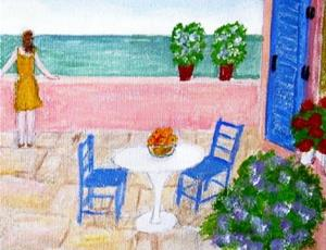 Detail Image for art The Terrace (SOLD)