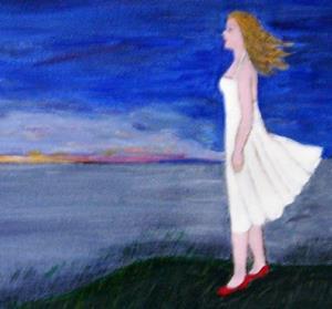 Detail Image for art Evening Horizon (SOLD)