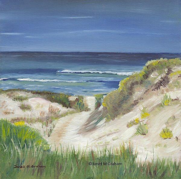 Art: Sand Dune by Artist Janet M Graham