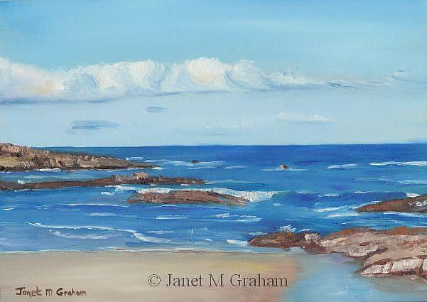 Art: Nelson Bay by Artist Janet M Graham