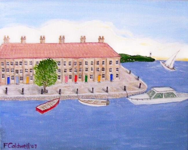 Art: Little Harbor (Not for Sale) by Artist Fran Caldwell