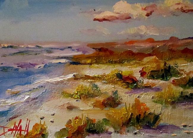 Art: Beach by Artist Delilah Smith