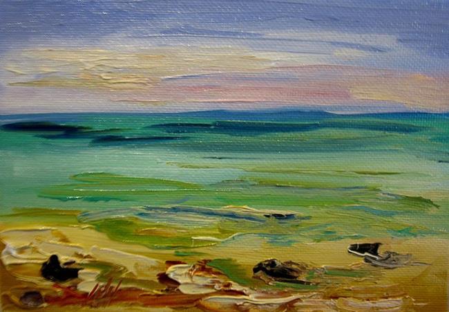 Art: Shore Line No.2 by Artist Delilah Smith