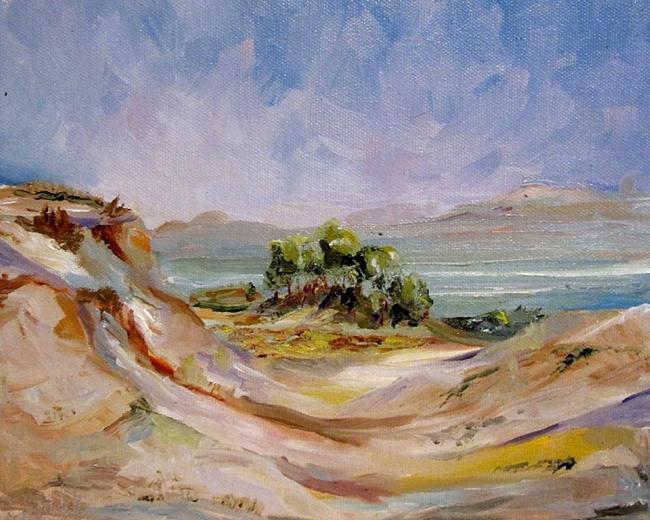 Art: Sleeping Bear Dunes by Artist Delilah Smith