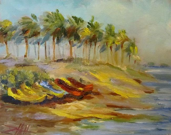 Art: Beach Breeze-SOLD by Artist Delilah Smith
