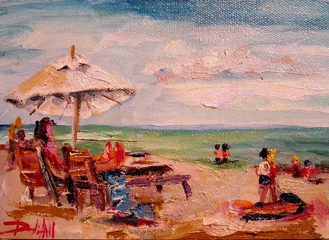Art: Beach Vacation by Artist Delilah Smith