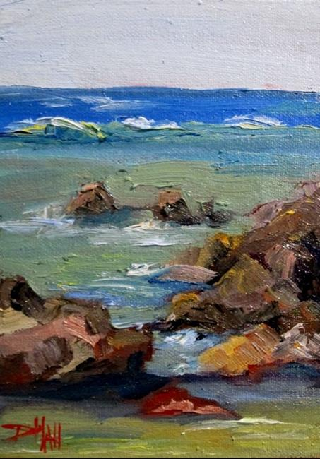 Art: Seascape by Artist Delilah Smith